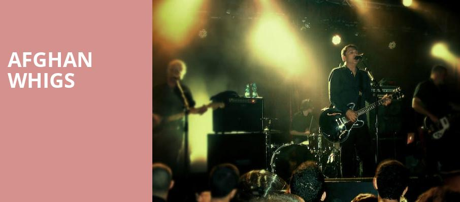 Afghan Whigs, Saint Andrews Hall, Detroit