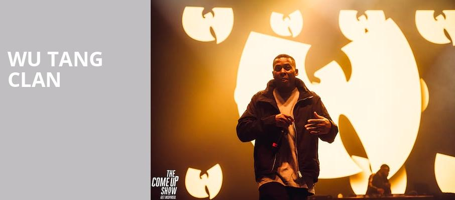 Wu Tang Clan, Freedom Hill Amphitheater, Detroit