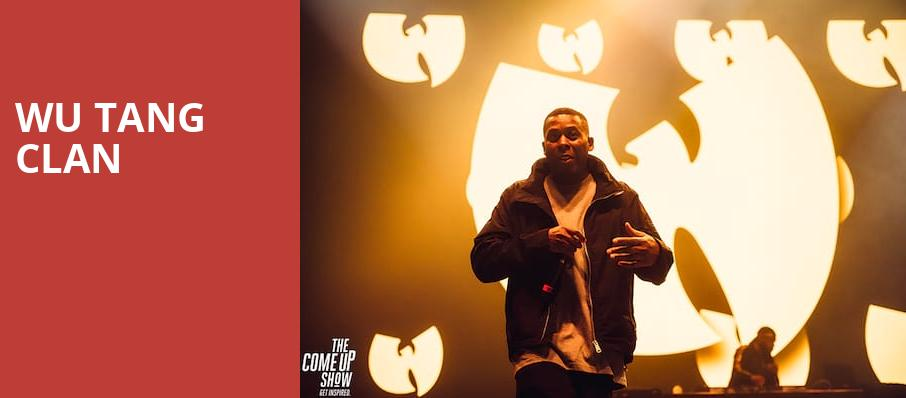 Wu Tang Clan, Detroit Symphony Orchestra Hall, Detroit