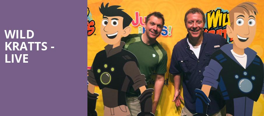 Wild Kratts Live, Fisher Theatre, Detroit