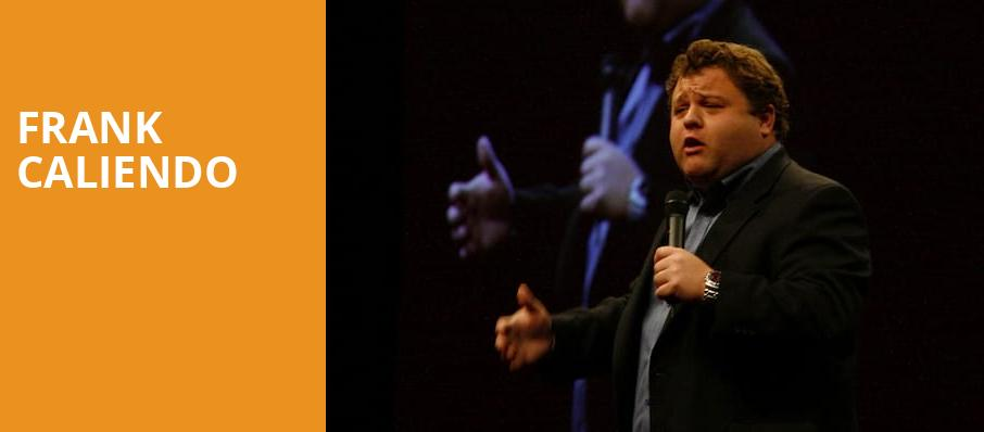 Frank Caliendo, MGM Grand Detroit Event Center, Detroit