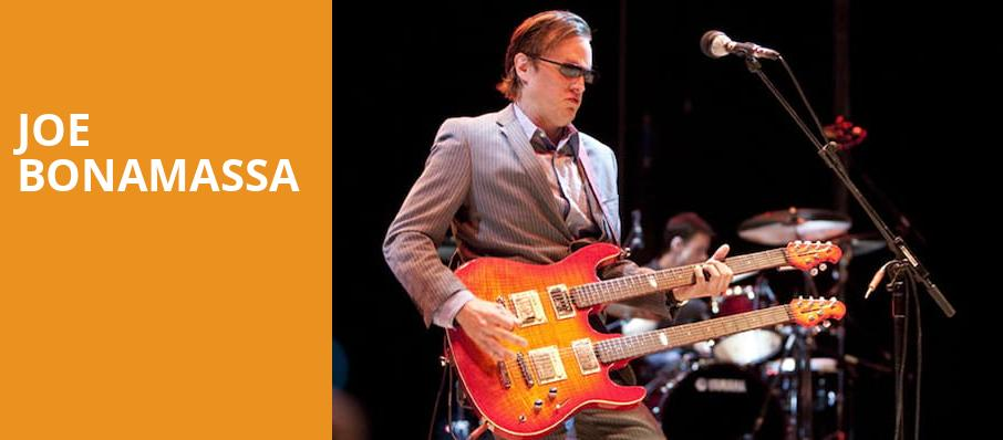Joe Bonamassa, Fox Theatre, Detroit