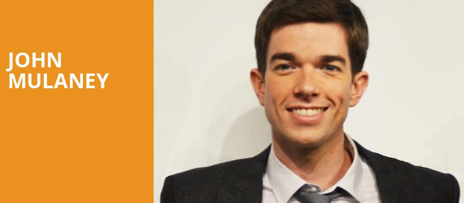 John Mulaney, The Fillmore, Detroit