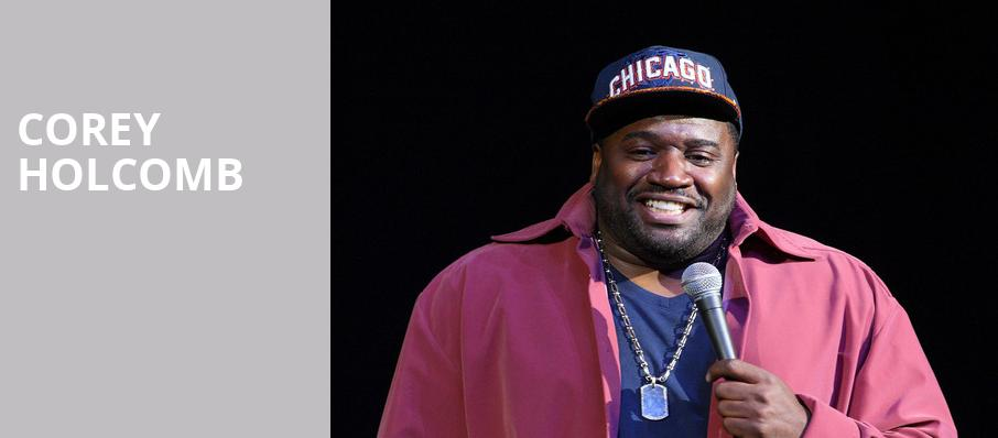 Corey Holcomb, Fox Theatre, Detroit