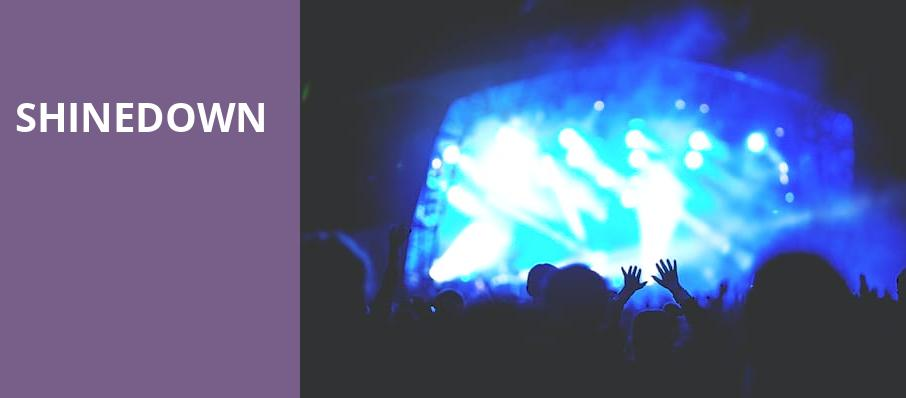 Shinedown, DTE Energy Music Center, Detroit