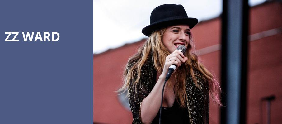 ZZ Ward, Saint Andrews Hall, Detroit