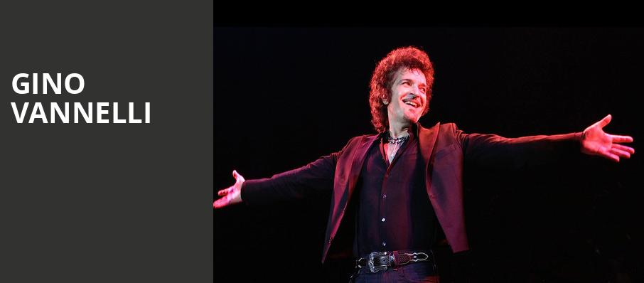 Gino Vannelli, Andiamo Celebrity Showroom, Detroit