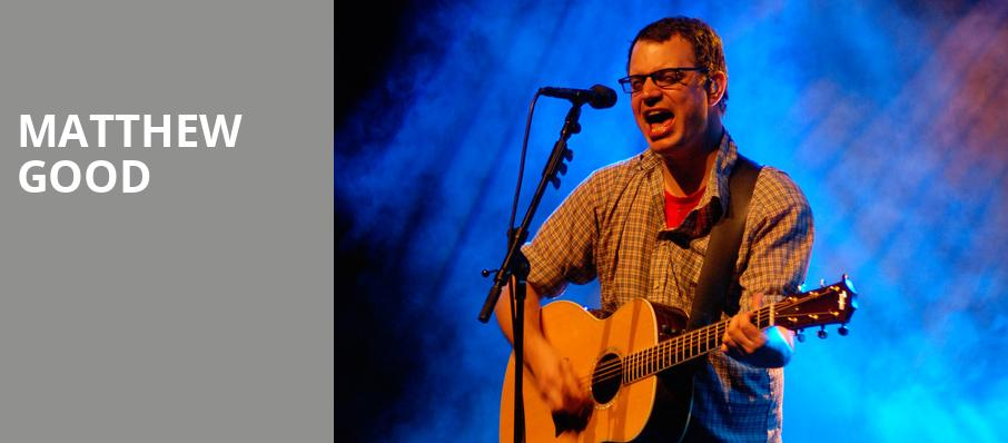 Matthew Good, The Shelter, Detroit