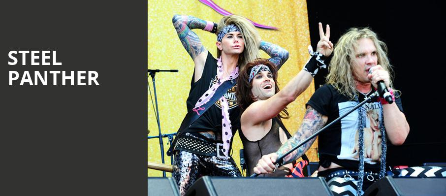 Steel Panther, The Fillmore, Detroit