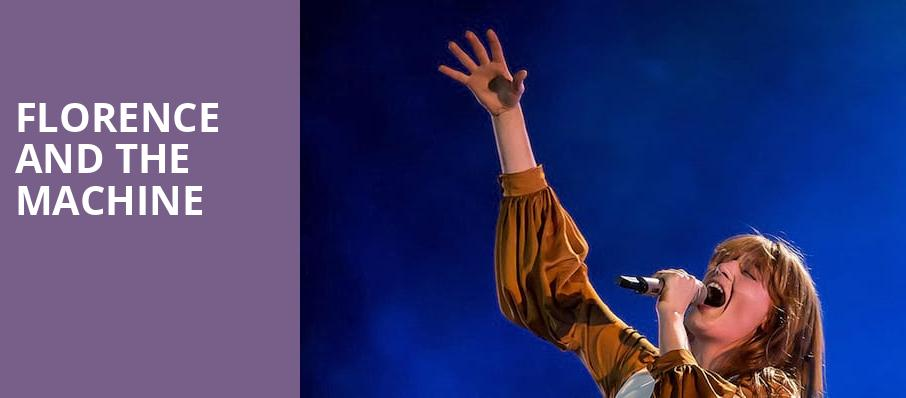 Florence and the Machine, DTE Energy Music Center, Detroit