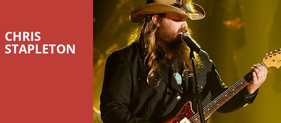 Chris Stapleton, DTE Energy Music Center, Detroit