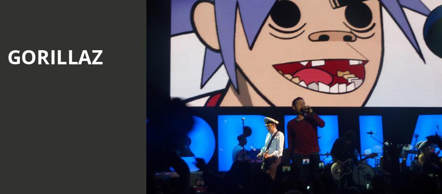 Gorillaz, Fox Theatre, Detroit