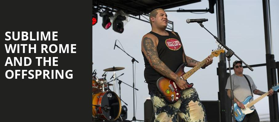 Sublime with Rome and The Offspring, Freedom Hill Amphitheater, Detroit