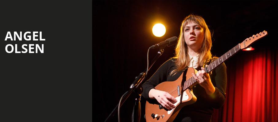Angel Olsen, Royal Oak Music Theatre, Detroit