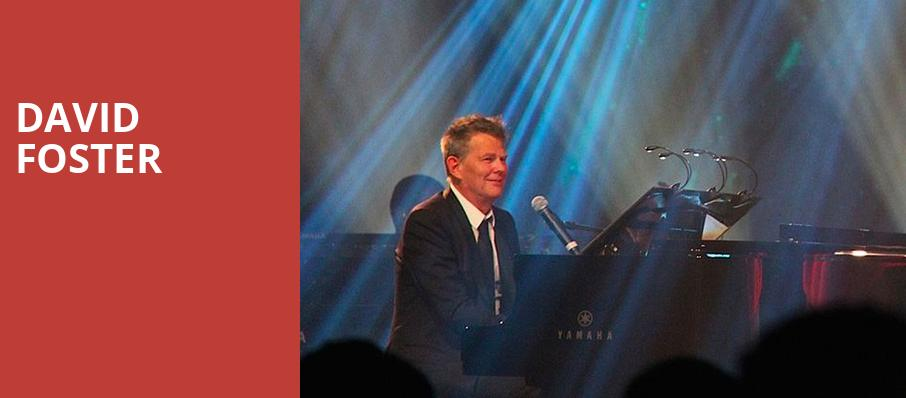 David Foster, Fox Theatre, Detroit