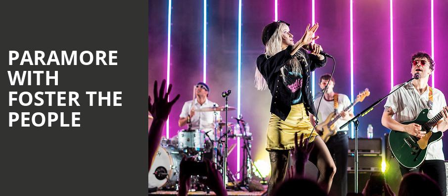 Paramore with Foster The People, DTE Energy Music Center, Detroit