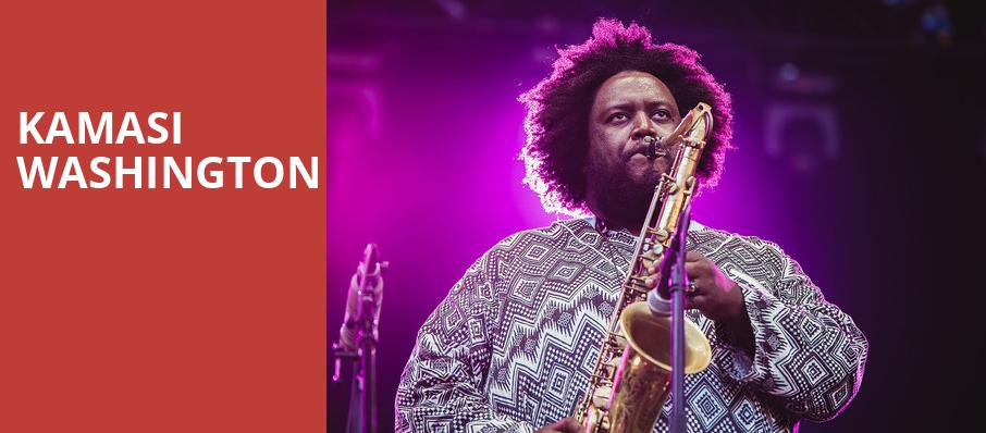 Kamasi Washington, Chene Park Amphitheater, Detroit