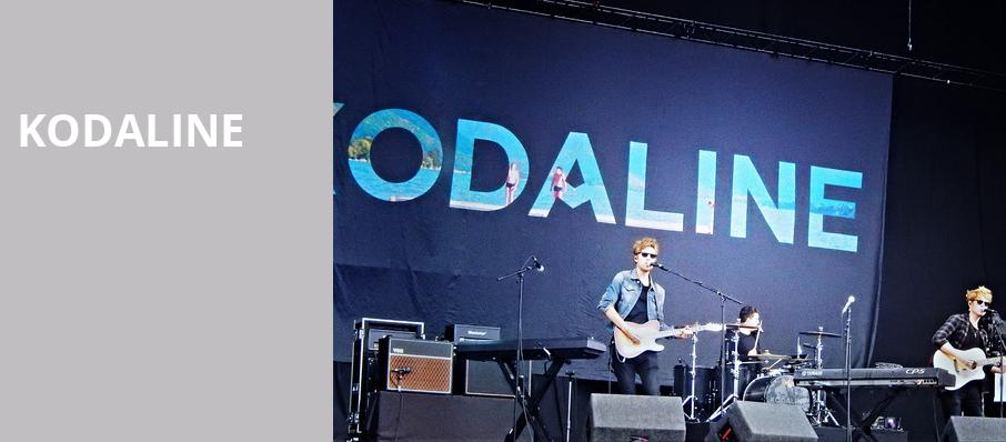 Kodaline, Saint Andrews Hall, Detroit