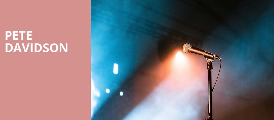 Pete Davidson, Royal Oak Music Theatre, Detroit