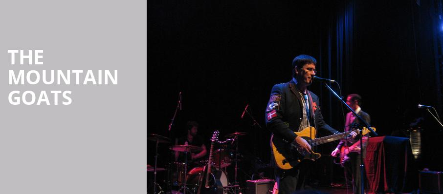The Mountain Goats, Majestic Theater, Detroit