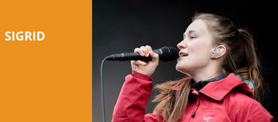Sigrid, El Club, Detroit