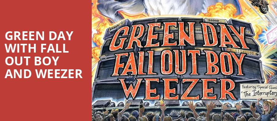 Green Day with Fall Out Boy and Weezer, Comerica Park, Detroit