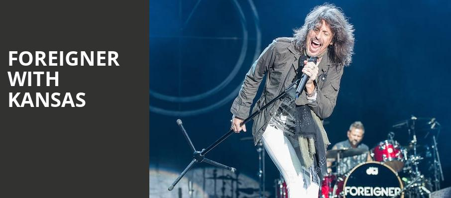 Foreigner with Kansas, DTE Energy Music Center, Detroit