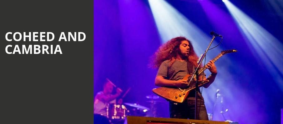 Coheed and Cambria, Royal Oak Music Theatre, Detroit