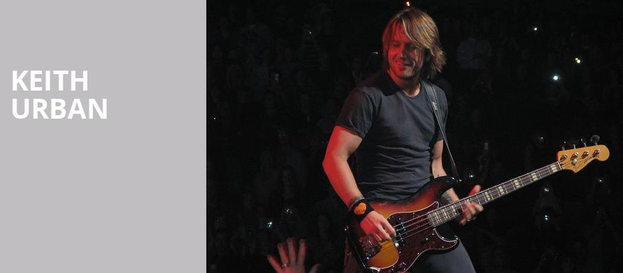 Keith Urban, DTE Energy Music Center, Detroit