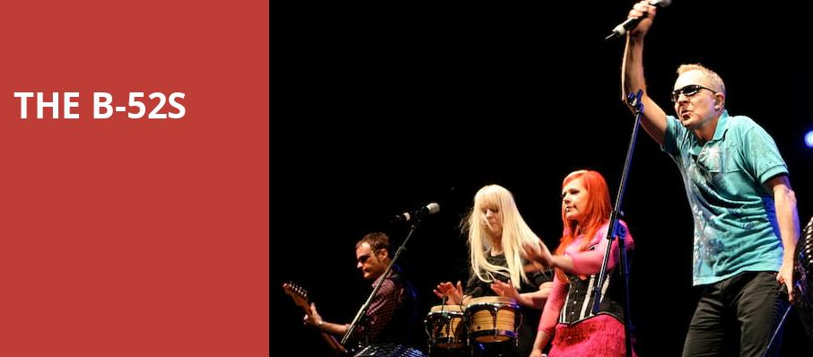The B 52s, Meadow Brook Music Festival, Detroit