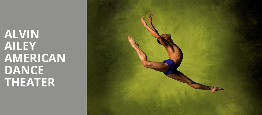 Alvin Ailey American Dance Theater, Detroit Opera House, Detroit