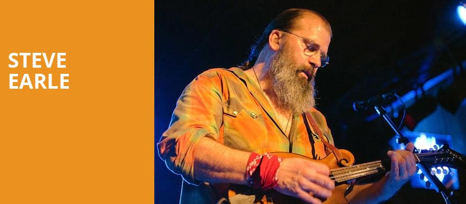 Steve Earle, Saint Andrews Hall, Detroit