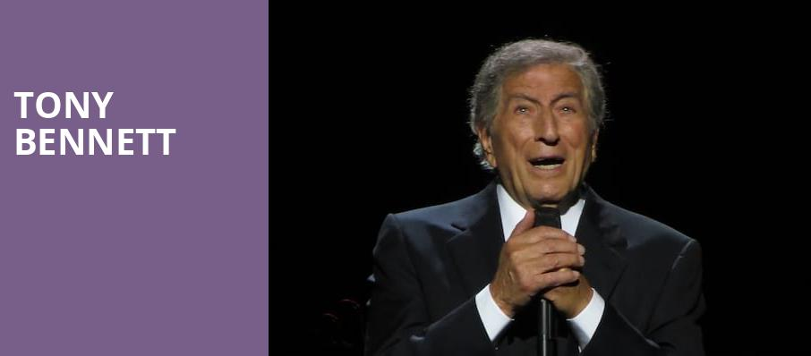 Tony Bennett, Fox Theatre, Detroit