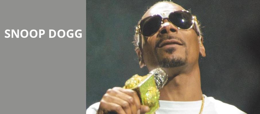 Snoop Dogg, The Fillmore, Detroit