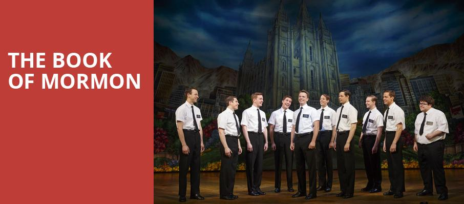 The Book of Mormon, Fisher Theatre, Detroit