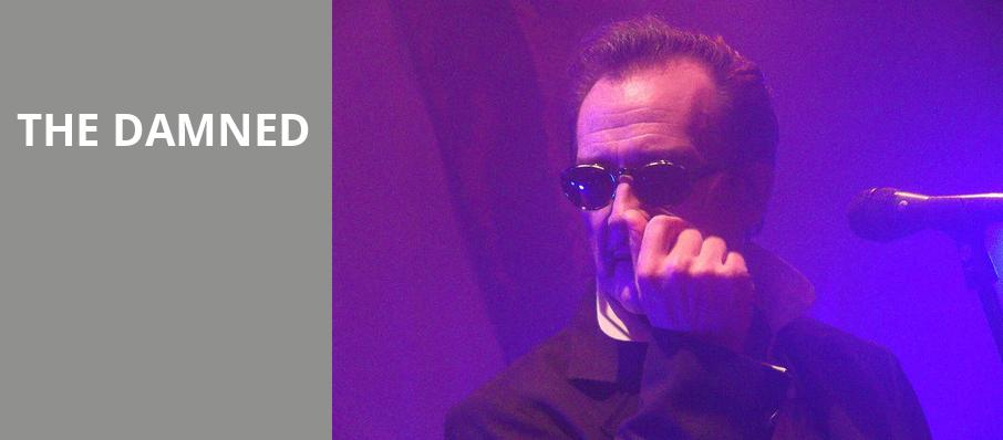 The Damned, Saint Andrews Hall, Detroit