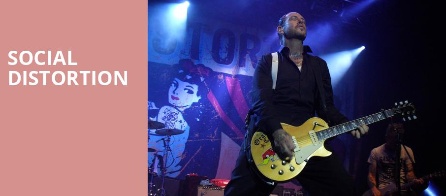 Social Distortion, The Fillmore, Detroit