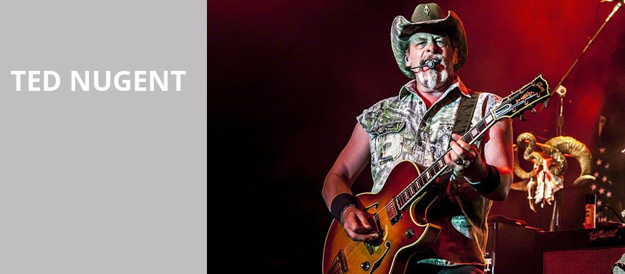 Ted Nugent, DTE Energy Music Center, Detroit