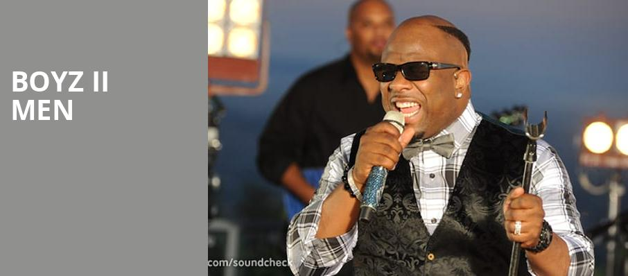 Boyz II Men, MGM Grand Detroit Event Center, Detroit