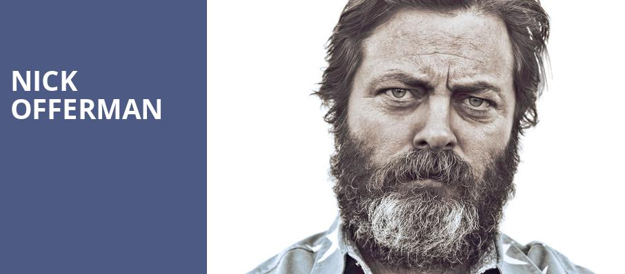 Nick Offerman, The Fillmore, Detroit