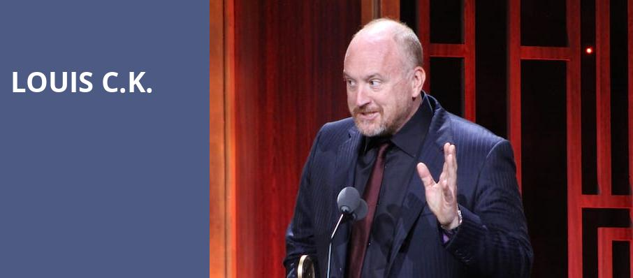 Louis CK, Royal Oak Music Theatre, Detroit