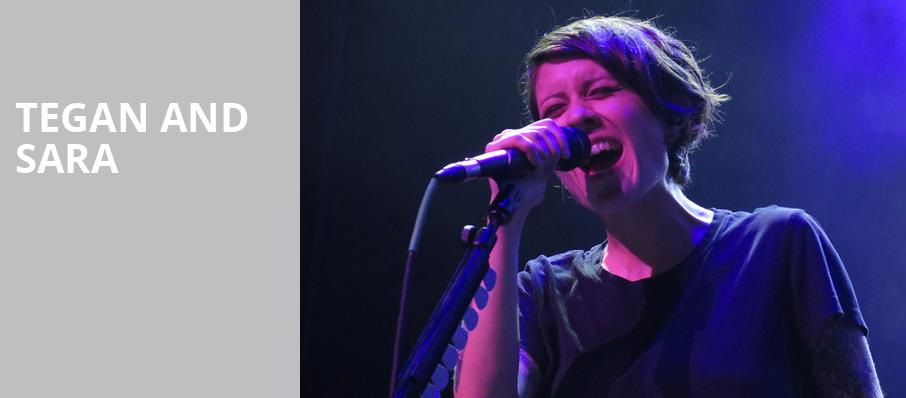 Tegan and Sara, Masonic Temple Theatre, Detroit