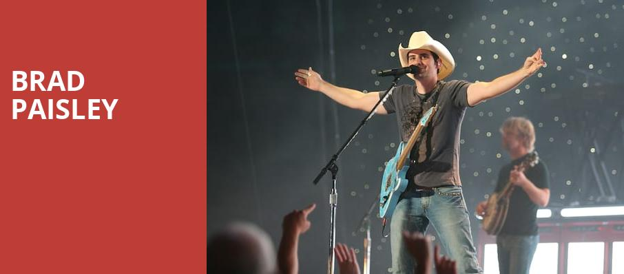 Brad Paisley, DTE Energy Music Center, Detroit